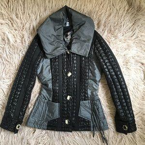 OHDD Silver Puffer Blazer Jacket